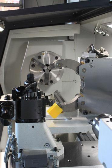 Drehmaschine / Drehbank VDF Böhringer Parat selbstzentrierende Lünette
