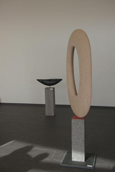 Andreas Lindegger/ Salenstein/ Bildhauer am Untersee/ Ausstellung skulpturen/