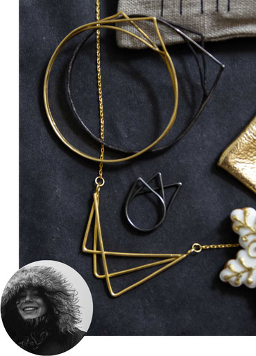 Handmade jewellery by Eni Jewellery make a fabulous Christmas gift