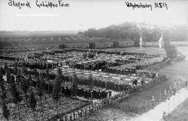 Ehrenfriedhof Wilhelmshaven Garnisonsfriedhof Skagerrakschlacht Skagerrak Gedächtnisfeier