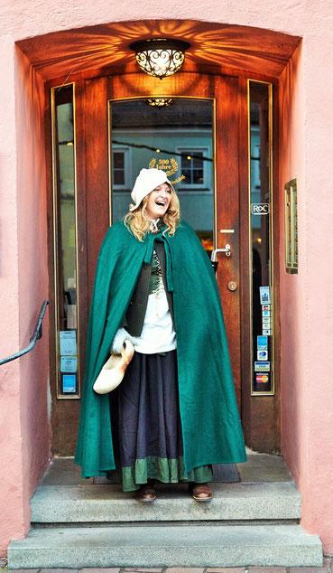 Bürgerin der Staaden Zeit. Foto: B. Paringer