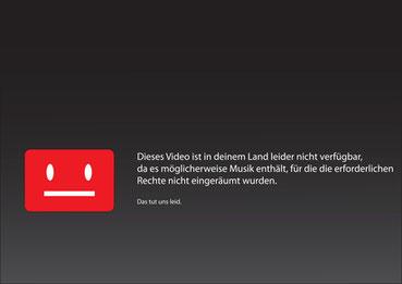 Die Sperrtafel kennen alle YouTube Nutzer, nun wird sie endlich nicht mehr angezeigt ©greenpapillon_fotolia.com