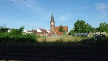 Celle, Blick vom Bahnhof