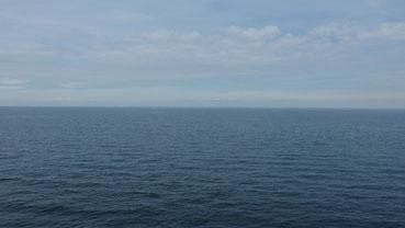 Ostsee, verdammt viel Wasser...