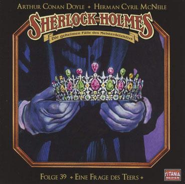 CD-Cover Sherlock Holmes Eine Frage des Teers