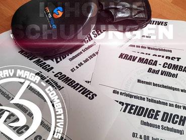 Krav Maga - Combatives Bad Vilbel - Seminar - Verteidige Dich selbst - Inhouse Schulungen