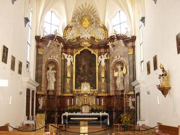 Presbyterium der Pfarrkirche zum Hl. Xystus
