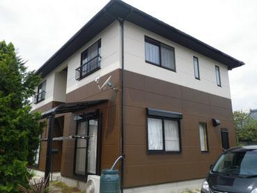熊本市M様家外壁塗装及び屋根の遮熱塗装完成です。
