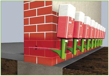 horizontalsperre systemabdichtungen. Black Bedroom Furniture Sets. Home Design Ideas