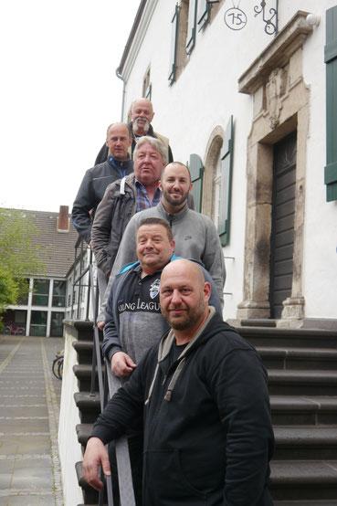 Das Hausmeisterteam der G&R