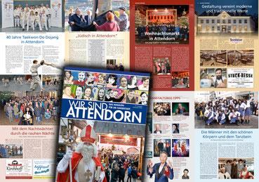 Collage des Stadtmagazins Wir sind Attendorn