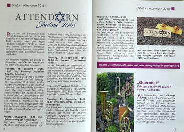 Auszug aus dem Gemeindebrief der Evangelischen Kirchengemeinde Attendorn