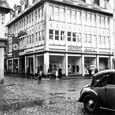 Das ehemalige Kaufhaus Lenneberg in Attendorn