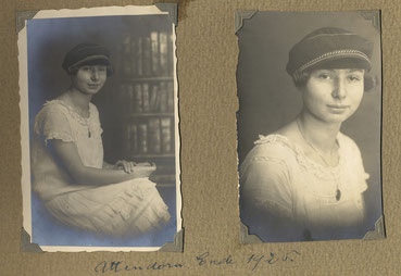 Historische Aufnahme von Anna Kahn