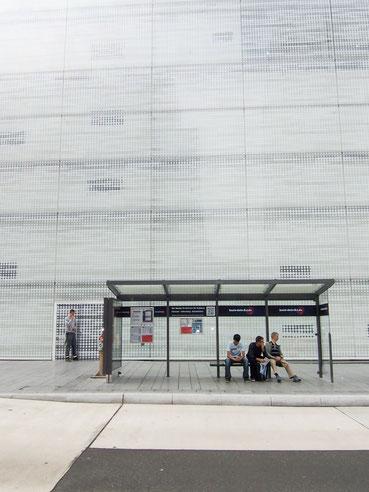 """Das """"Forum Confluentes"""" in Koblenz, eine künstlerische Auseinandersetzung, Lange Nacht der Museen 2013 Foto Ellen Roß"""