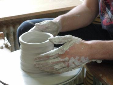 """toepfern nach herzenslust,Keramik Auf der Spek, © M. W""""aubke, K. Heusinger"""