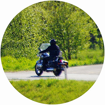 Motorradfahren in Peel en Maas