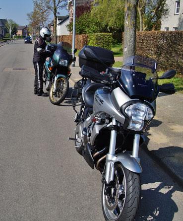 Wieder mit dem Moped auf Tour