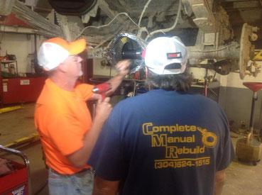 CMR Rebuild best mechanics in Clarksburg evaluate differential