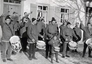 Der Fanfarenzug war der Vorläufer des heutigen Musikvereins