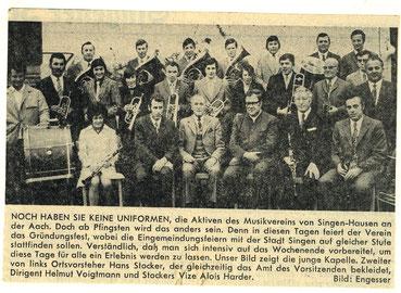 Gruppenfoto der ersten Besetzung