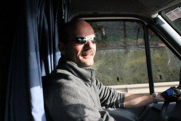 Auf der Fahrt zur EM in Slowenien