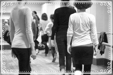 cours tango technique femme