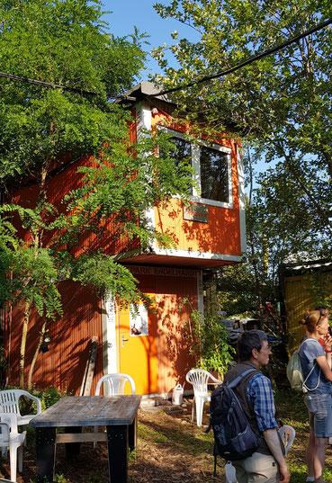 Foto: Atelier, Arbeitsplatz und Lagerraum für den Künstler, NABU