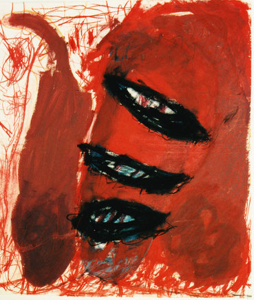 Erwin Auer Künstler Malerei Acryl