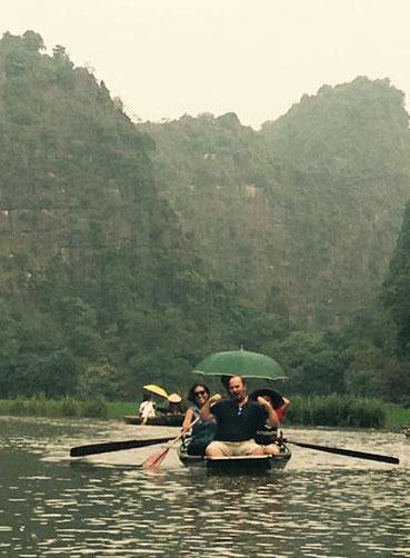 Ninh Binh e Tam Coc. Gita sul fiume