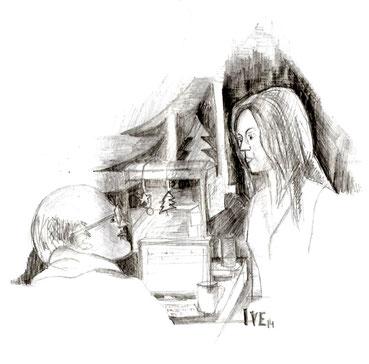 Lara und Henry. Grafik: IVE