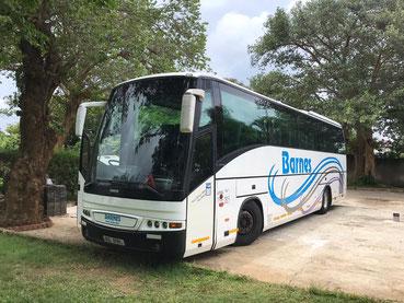 Rent Bus Lusaka