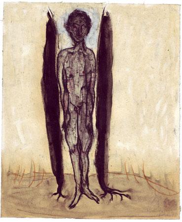 Anna Stangl, Zwischendrin, 1997. Voriges Bild: Anna Stangl, Spirale, 2005