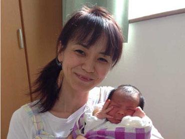 整体師と赤ちゃんの画像