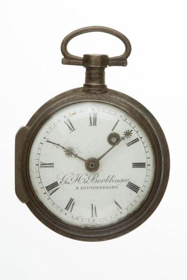 Vorzustand Taschenuhr von G. H. Berblinger, Emmendingen um 1810