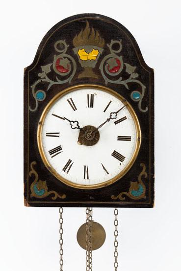Schwarzwälder Uhr mit Surrer Werk, um 1870