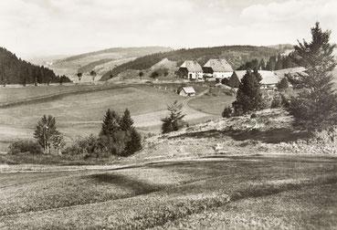 Die Kalte Herberge, Geburtsort von Mathä Winterhalder
