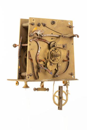 Regulator Uhrwerk, Furderer, Jaegler & Cie, Strasbourg, um 1885