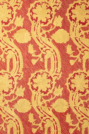 Pressbrokat, Musterplatte von Matthias Hüttlin