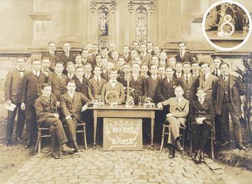 Uhrmacherschule Furtwangen, Gruppenfoto des Kurs III, 1922