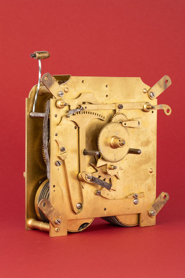Rechenschlagwerk, Uhrmacher Anton Breger, Vöhrenbach im Schwarzwald um 1860