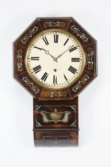Samuel Kammerer in Furtwangen, Drop Dial Clock um 1860