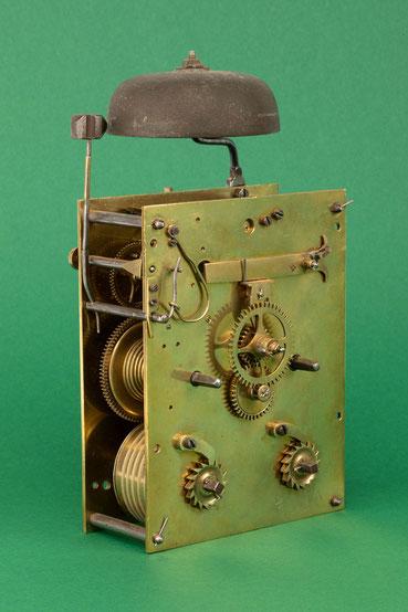 Uhrmacher Jakob Kleiser, 8-Tage Uhrwerk mit Schnecke, Schollach um 1860