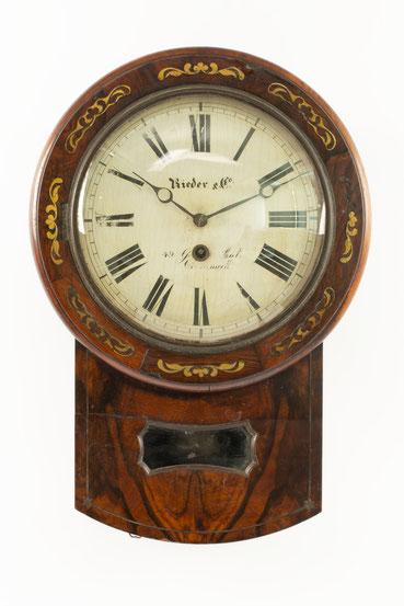 Mathias Behringer, Drop Dial Clock, Langenordnach im Schwarzwald um 1865