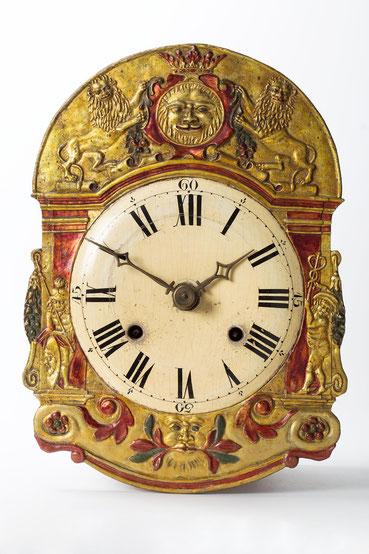 Lachschild Uhr