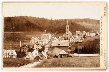 Ansicht von Schönwald (Schwarzwald), J. K. Berberich (Triberg), 1895