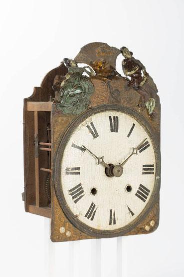 Schwarzwälder Comtoise Uhr, Zustand vor der Restaurierung