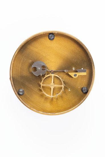 Chronometergang mit Gangfeder, Uhrmacherschule Furtwangen, um 1925, nach der Restaurierung
