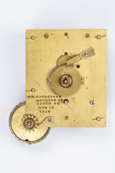 Englisches Uhrwerk, Wiliam A. Sainsbury,  London 1894