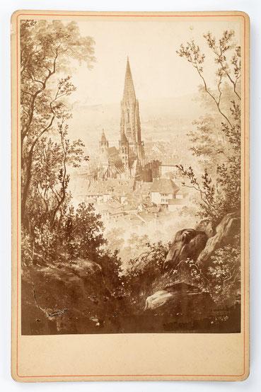Historische Aufnahme, Freiburg im Breisgau, um 1880